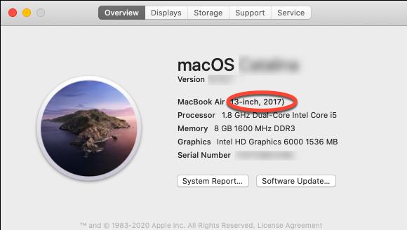 check mac model