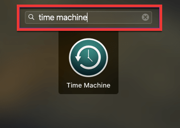 Launchpad Time Machine