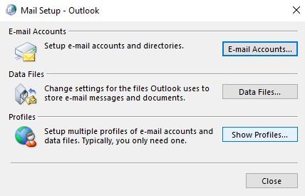 Mail Setup Outlook