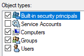 built in system security