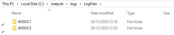 log file location