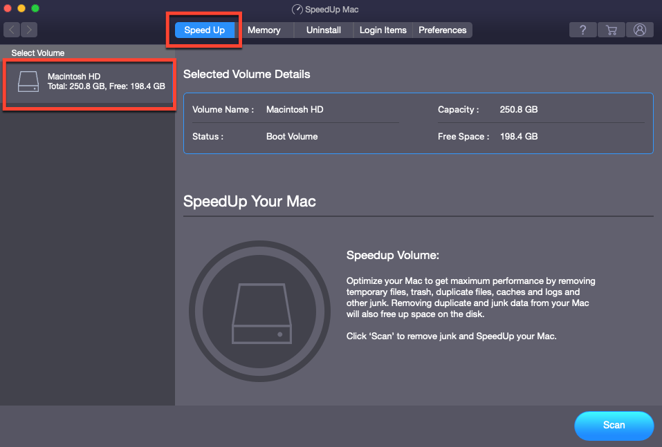 Select Macintosh HD