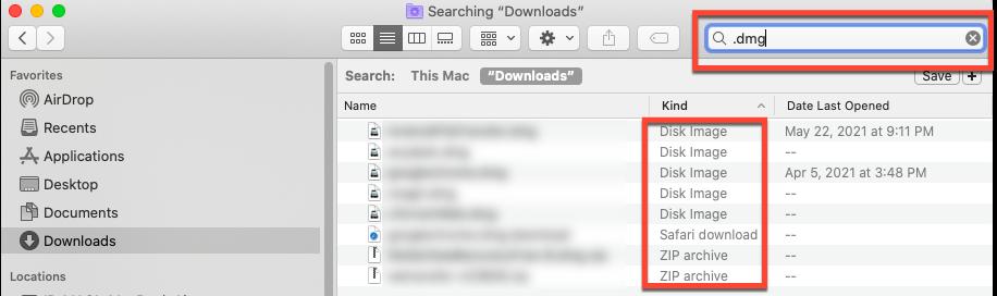 remove dmg files