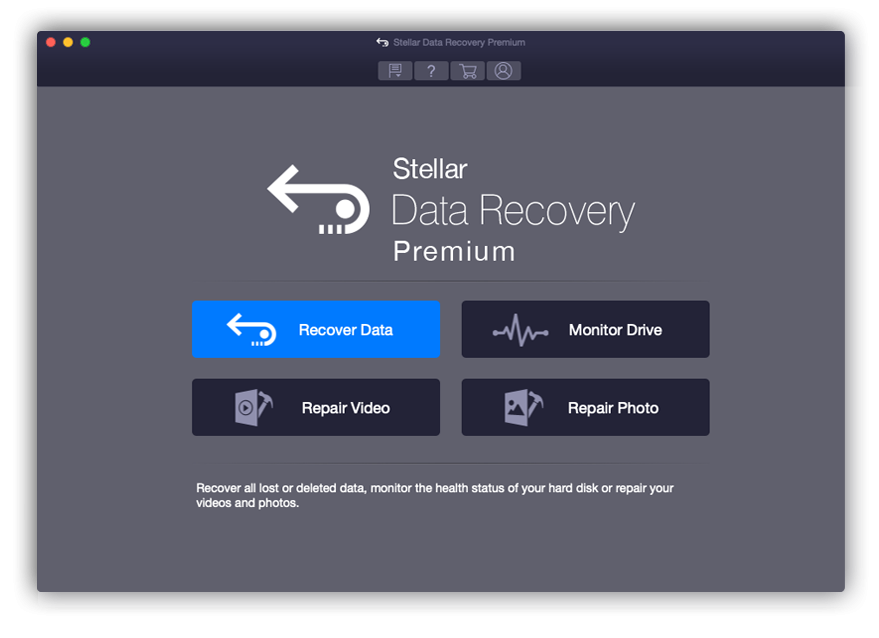 Stellar Data Recovery Tools for Mac