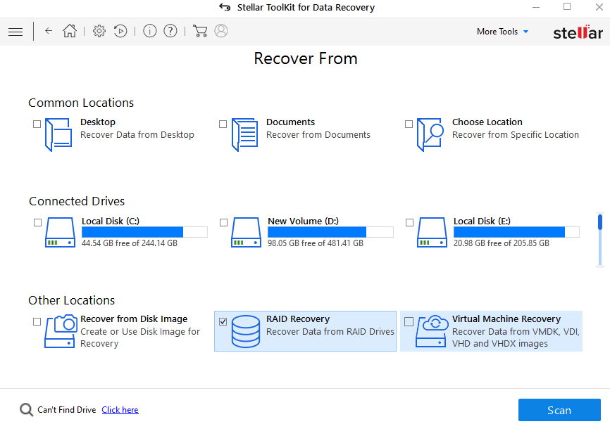 data recovery toolkit