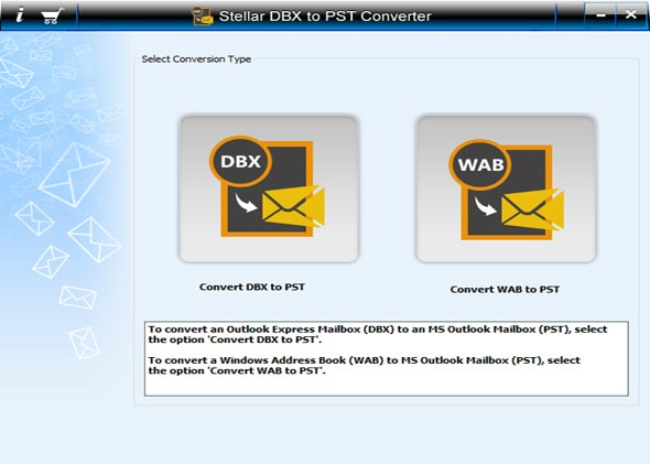 Stellar DBX to PST Converter Technician full screenshot