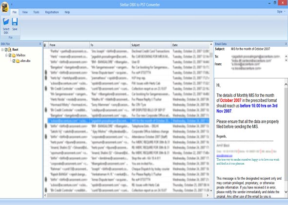 Outlook Express to MS Outlook 2010
