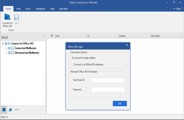 Stellar Converter for Office 365 full screenshot