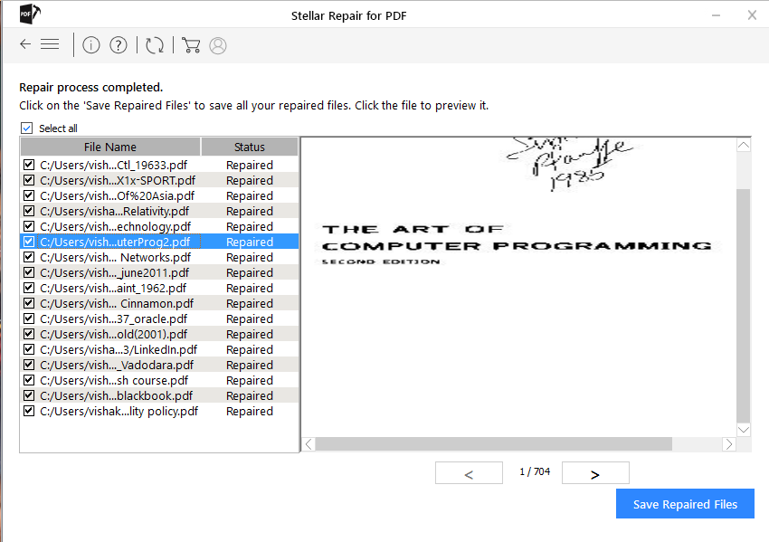 Corrupted php pdf file