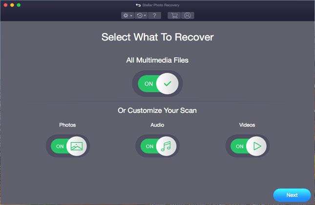 Stellar Photo Recovery-Standard Mac full screenshot