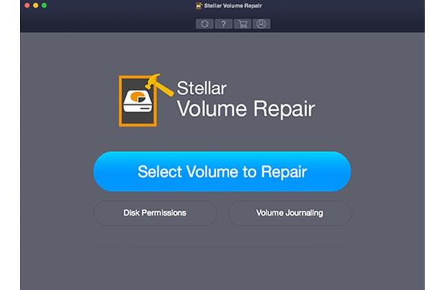 Screenshot of Stellar Volume Repair 3.0
