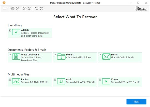 Stellar Phoenix Windows data recovery - Home