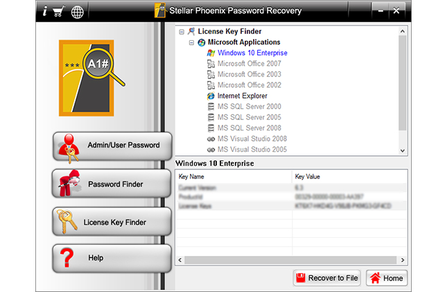 Stellar Phoenix Windows Password Recovery