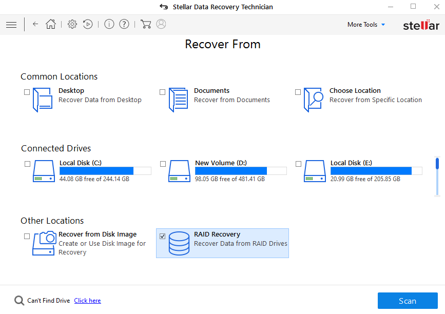 RAID 5 Data Recovery - Recover Data from Damaged RAID 5 Array