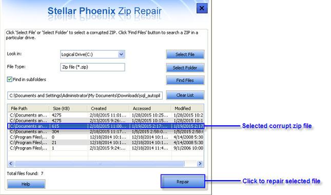 zip Repair