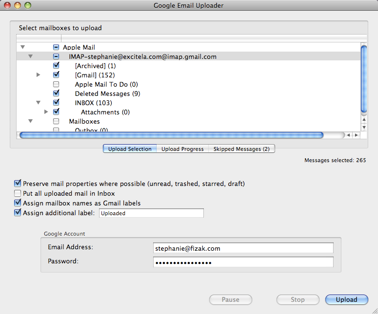 How to import Apple mails on Mac to Google Apps | Stellar KB