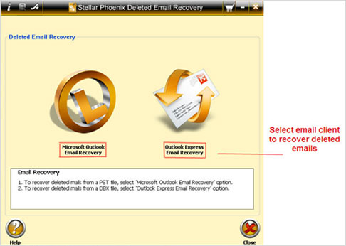 recover deleted emails outlook