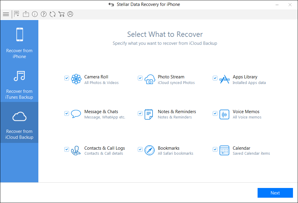 recovery data iphone