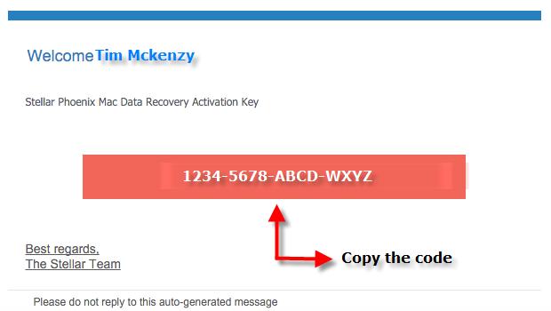 stellar phoenix mac data recovery registration keygen
