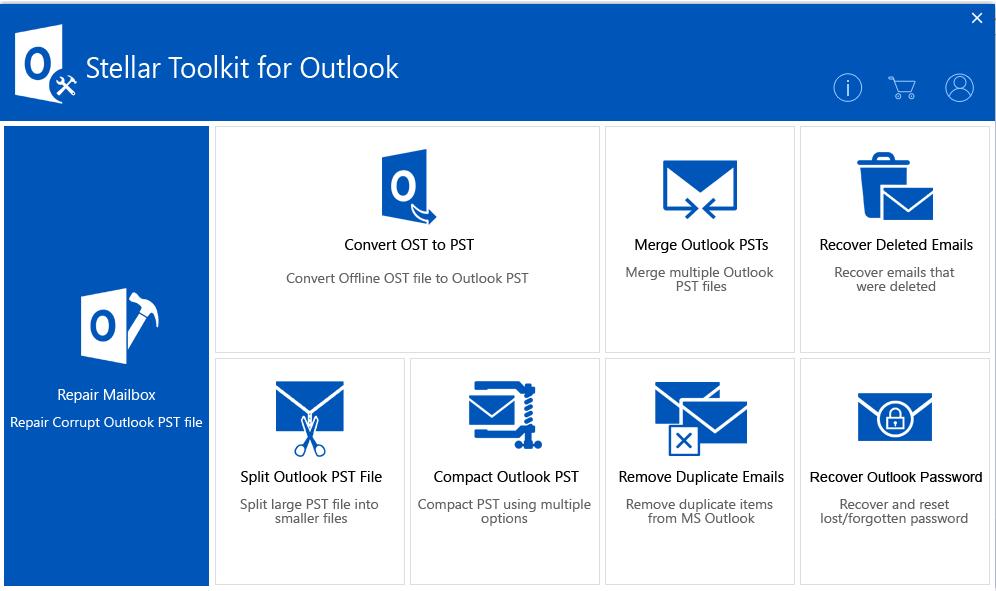 Kết quả hình ảnh cho Stellar Merge Mailbox for Outlook