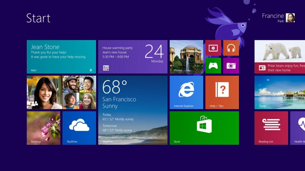 customized app size in Windows 8.1