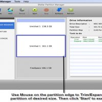 resize Mac partitions