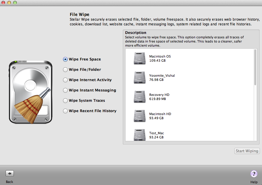 Wipe Multiple Mac drives