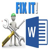 Repair Word File