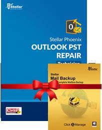 PST Repair - Tech + Mail BackUp box