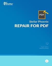 Stellar Phoenix Repair for PDF - Mac