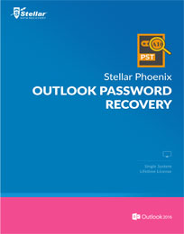 Stellar Phoenix Outlook Password Recovery