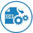 Converts Unicode EDB file icon