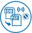 Converts online / offline EDB to PST icon