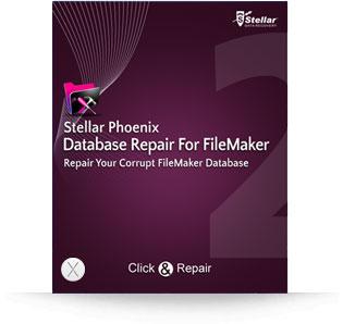 Stellar Phoenix Database Repair For FileMaker