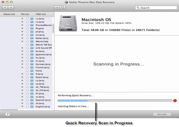 deleted recovery raw recovery create image resume scan selective