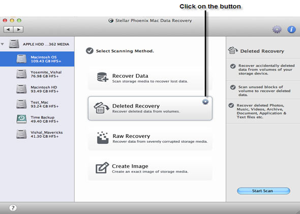 Mac Data Recovery Software to Recover Data on Mac OS X