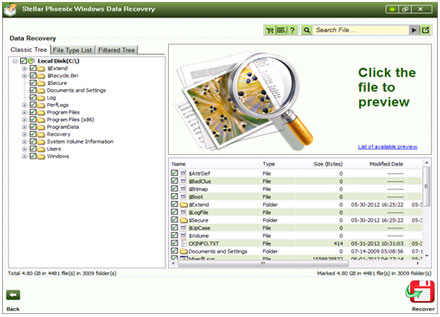 Stellar Phoenix Windows Data Recovery - Home 5.0