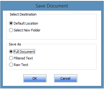 saving word document